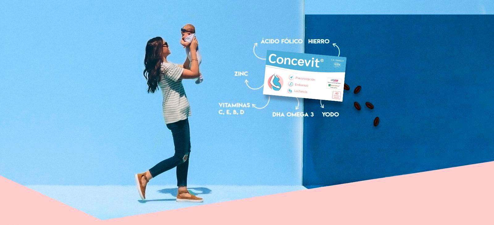 Concevit, complemento alimenticio para el embarazo