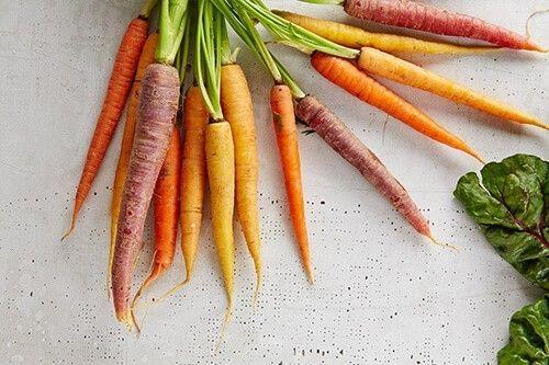 vitamina A en las zanahorias