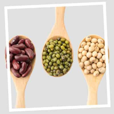 Legumes para o ferro