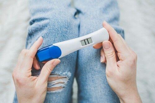 embarazo saludable, positivo