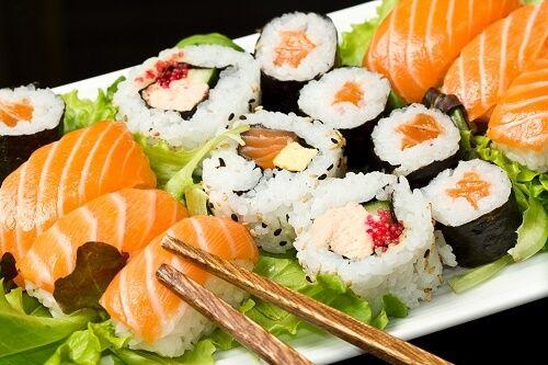 sushi toxico embarazo