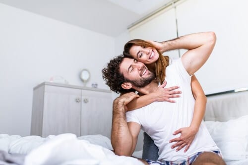 pareja sexo embarazo