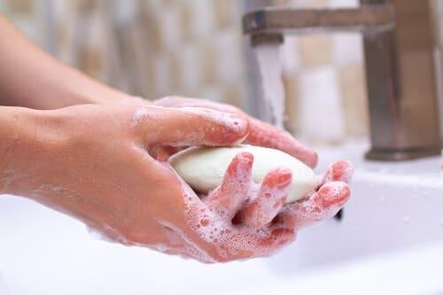 lavado manos coronavirus