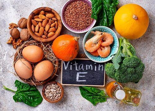 vitamina E fertilidad masculina